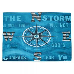 Countertop Place Mats   Patti Schermerhorn - Gods Nautical Compass