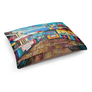 Decorative Dog Pet Beds | Patti Schermerhorn - Historic Market Square | town street shopping