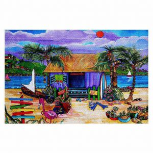 Decorative Floor Coverings | Patti Schermerhorn Island Time