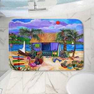 Decorative Bathroom Mats | Patti Schermerhorn - Island Time