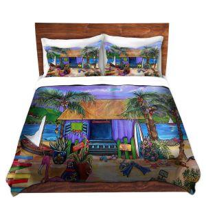 Artistic Duvet Covers and Shams Bedding | Patti Schermerhorn - Island Time