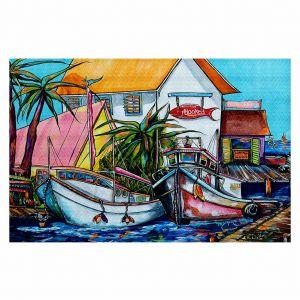 Decorative Floor Coverings | Patti Schermerhorn Just a Little Beach Town