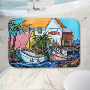 Decorative Bathroom Mats | Patti Schermerhorn - Just a Little Beach Town