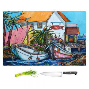 Artistic Kitchen Bar Cutting Boards | Patti Schermerhorn - Just a Little Beach Town