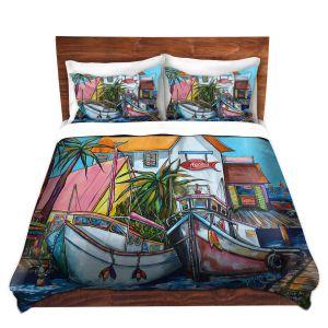 Artistic Duvet Covers and Shams Bedding   Patti Schermerhorn - Just a Little Beach Town