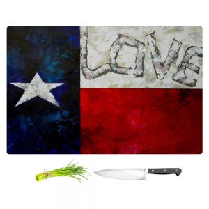 Artistic Kitchen Bar Cutting Boards | Patti Schermerhorn - Love For Texas