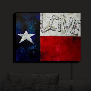 Nightlight Sconce Canvas Light | Patti Schermerhorn's Love For Texas