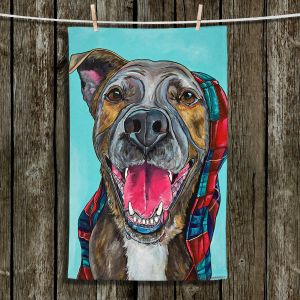 Unique Bathroom Towels | Patti Schermerhorn - My Blanket Dog | Dog Animal