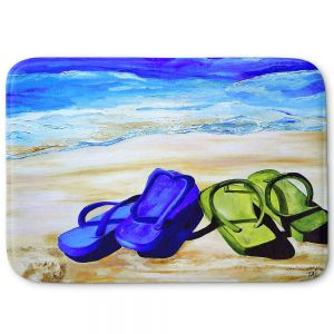 Decorative Bathroom Mats | Patti Schermerhorn - Naked Feet on the Beach