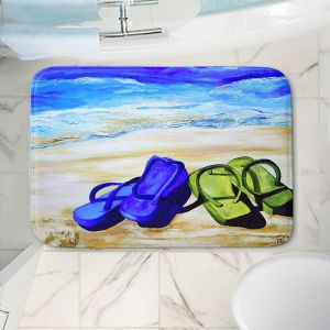 Decorative Bathroom Mats | Patti Schermerhorn - Naked Feet on the Beach
