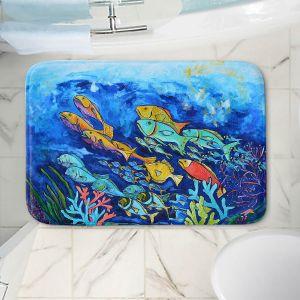 Decorative Bathroom Mats   Patti Schermerhorn - Reef Fish   sea ocean underwater nature