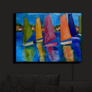 Nightlight Sconce Canvas Light | Patti Schermerhorn's Reflections of Tortola