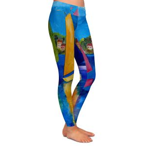 Casual Comfortable Leggings | Patti Schermerhorn Reflections of Tortola