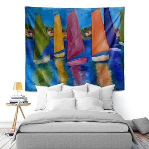 Artistic Wall Tapestry | Patti Schermerhorn Reflections of Tortola