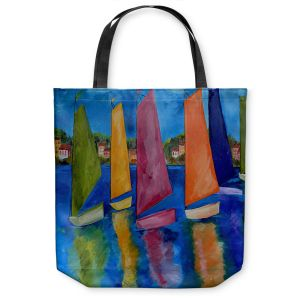 Unique Shoulder Bag Tote Bags | Patti Schermerhorn Reflections of Tortola