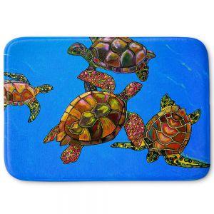 Decorative Bathroom Mats | Patti Schermerhorn - Sarrahs Sea Turtles
