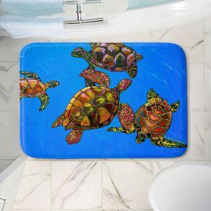 Decorative Bathroom Mats   Patti Schermerhorn - Sarrahs Sea Turtles