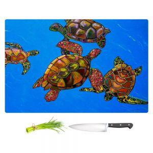 Artistic Kitchen Bar Cutting Boards | Patti Schermerhorn - Sarrahs Sea Turtles