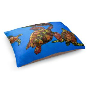 Decorative Dog Pet Beds | Patti Schermerhorn's Sarrahs Sea Turtles