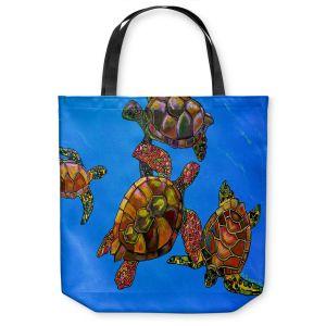 Unique Shoulder Bag Tote Bags | Patti Schermerhorn Sarrahs Sea Turtles