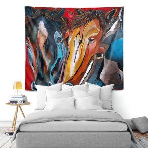Artistic Wall Tapestry | Patti Schermerhorn Three Amigos