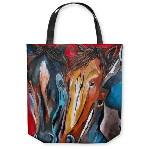 Unique Shoulder Bag Tote Bags | Patti Schermerhorn Three Amigos