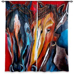 Decorative Window Treatments | Patti Schermerhorn Three Amigos
