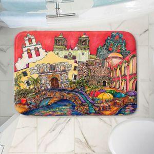 Decorative Bathroom Mats   Patti Schermerhorn - Tourist San Antonio   city map town state tourist