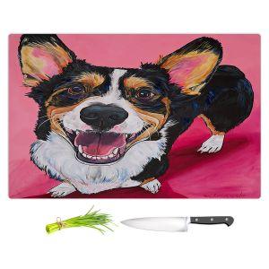 Artistic Kitchen Bar Cutting Boards | Patti Schermerhorn - Walden Corgi | Animals Dogs