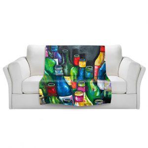 Artistic Sherpa Pile Blankets | Patti Schermerhorn Wine Collection