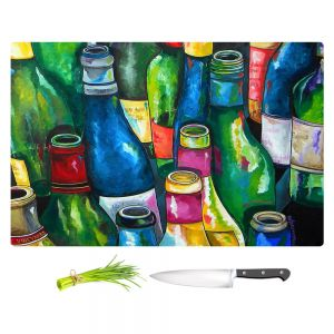 Artistic Kitchen Bar Cutting Boards | Patti Schermerhorn - Wine Collection