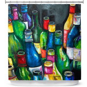 Premium Shower Curtains | Patti Schermerhorn Wine Collection