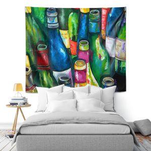 Artistic Wall Tapestry | Patti Schermerhorn Wine Collection