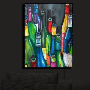 Nightlight Sconce Canvas Light | Patti Schermerhorn's Wine Collection