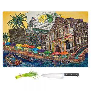 Artistic Kitchen Bar Cutting Boards | Patti Schermerhorn - Yellow Rose texas