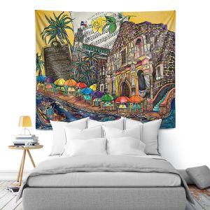 Artistic Wall Tapestry | Patti Schermerhorn - Yellow Rose texas