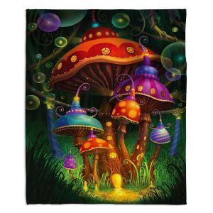 Decorative Fleece Throw Blankets | Philip Straub - Enchanted Evening