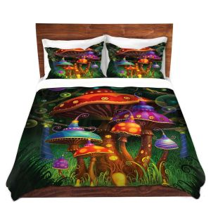 Artistic Duvet Covers and Shams Bedding | Philip Straub - Enchanted Evening