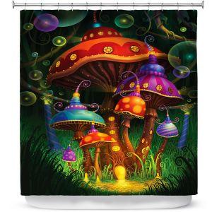 Premium Shower Curtains | Philip Straub Enchanted Evening