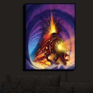 Nightlight Sconce Canvas Light   Philip Straub's Ghost Train