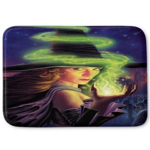 Decorative Bathroom Mats | Philip Straub - Hex of the Witch | fantasy halloween spooky magic