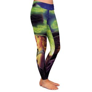 Casual Comfortable Leggings | Philip Straub - Hex of the Witch | fantasy halloween spooky magic