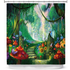 Premium Shower Curtains | Philip Straub Hidden treasure