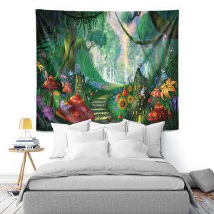 Artistic Wall Tapestry | Philip Straub Hidden treasure