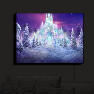 Nightlight Sconce Canvas Light   Philip Straub's Ice Castle