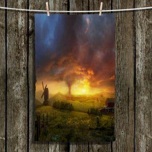 Unique Hanging Tea Towels   Philip Straub - Infinite Oz   Farm Oz Tornado