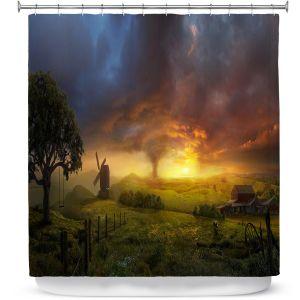 Premium Shower Curtains | Philip Straub Infinite Oz