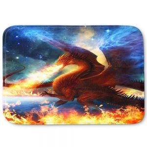Decorative Bathroom Mats | Philip Straub - Lord of the Celestial Dragons