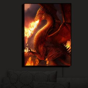 Nightlight Sconce Canvas Light | Philip Straub's Lord of the Dragons