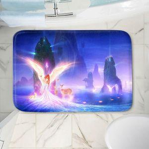 Decorative Bathroom Mats | Philip Straub - Ooulana | spiritual angel nature fantasy